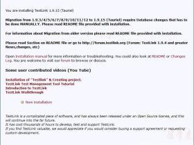 TestLink 1.9.15 安装部署