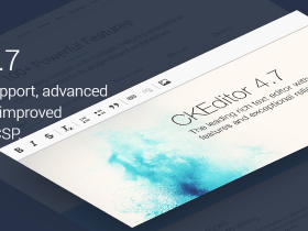 CKEditor 4.7 正式发布