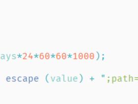 Javascript 设置Cookie,删除Cookie,获取Cookie 函数