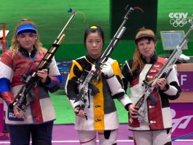 东京奥运会,中国00后小姑娘拿下首金