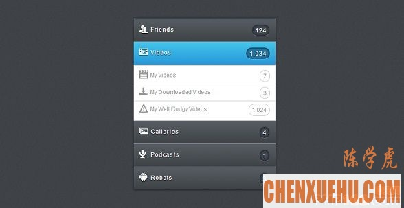 css3-multiple-accordion-menu
