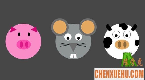 分享9款用HTML5/CSS3制作的动物、人物动画