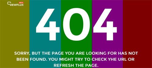 25个佳作分享:原来404页面也可如此有趣