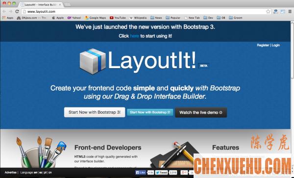 12 个 Web 设计师必备的 Bootstrap 工具