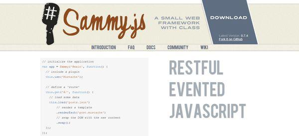 2014 年最火的 21 个 JavaScript 框架