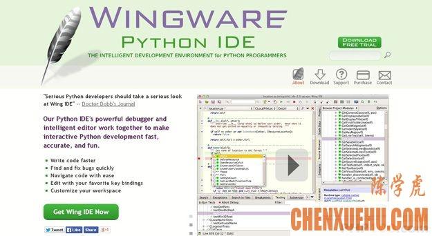 10 个 Python IDE 和代码编辑器