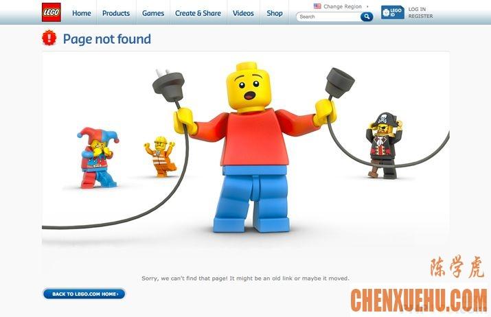 如何打造优秀的404错误页面?