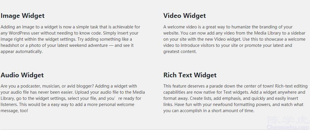 博客已经成功升级 WordPress 4.8