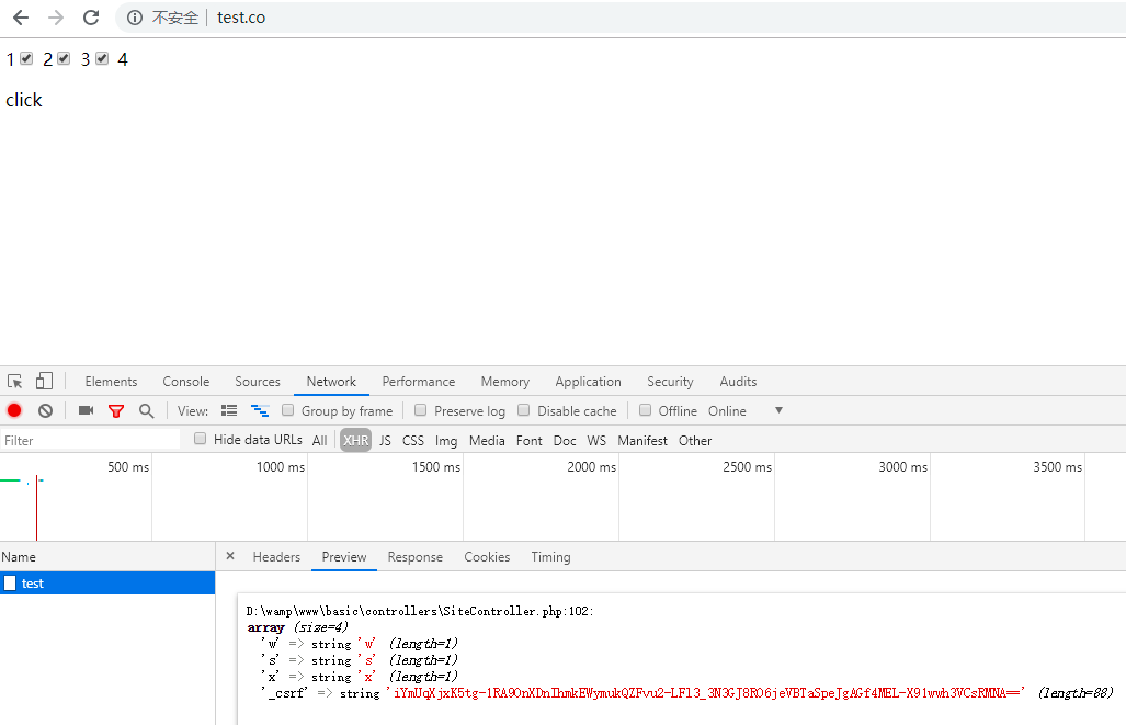 Yii2 Ajax 表单serialize 操作,如何解决CSRF问题| 陈学虎